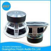 China 15 inch Powerful Competitiom Subwoofer/ SPL speaker/ Car audio speaker 4000WRMS Dual 1/2 Ohm on sale