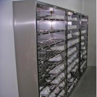 China Stainless steel shoe cabinet on sale
