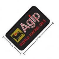 China Agip Oil Style-3 Embroidered Sew On Patch on sale