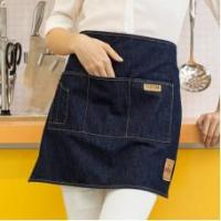 Quality Vantoo Fashion Denim Jean Waist Apron with Three Convenient Pockets for Men and Women,Navy Blue for sale