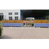 Bar Induction Heating Equipment Long bar induction hardening and tempering line for sale