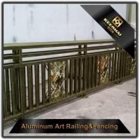 China Aluminum Balustrade High Quality Aluminum Deck Railing For Design on sale
