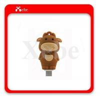 Quality USB Flash Disk UO-3204 cow usb to micro usb thumb drive for sale