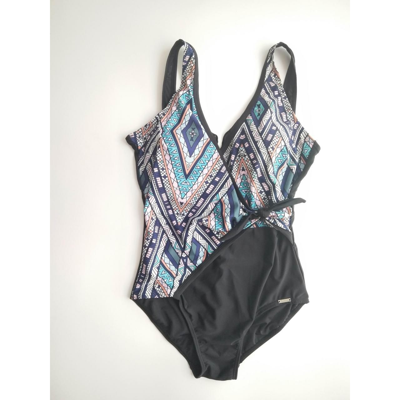 Quality LADIES SWIMSUITS ladies front tie one-piece swimwear for sale