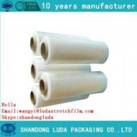 Quality Hot sale strong flexible LLDPE pallet shrink wrapping film for sale