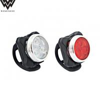 Quality LED BIKE LIGHT WD-UT04 USB rechargeable Front/Rear Bike Light for sale