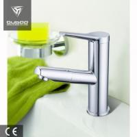 China Single lever deck mounted basin mixer faucet on sale