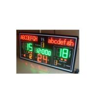 Buy cheap Basketball score board with shot clock for basketball competition from wholesalers