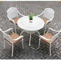 Buy cheap cast alu.chair and table cast aluminum patio furniture from wholesalers