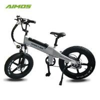 Buy cheap bike wheel 20inch Fat Tire Electric bike with Mag wheel from wholesalers