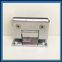 China Bathroom glass clamp the hypotenuse and single 90 degree on sale