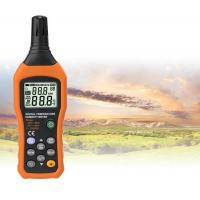 High Accuracy Digital Thermometer Humidity Meter With  C /  F Unit Selection for sale
