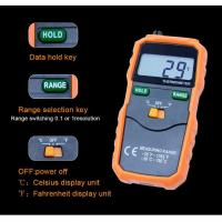 High Precision Temp Humidity Meter , Auto Power OFF Digital Thermometer Hygrometer for sale