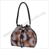 Quality Leather Tie & Die Hand Bag for sale