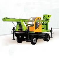 Wheeled Type Spiral Pile Drilling Machine for sale