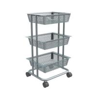 Buy cheap Carbon steel Rolling Storage Cart-HS-007 from wholesalers