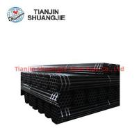 Buy cheap 2018 Best Selling ASTM A53 ERW black carbon steel pipe from wholesalers