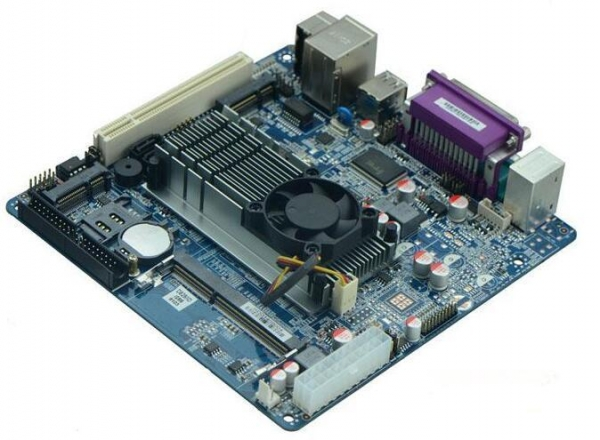 China For Intel D525 Dual Core Atom CPU 1.8Ghz Mini ITX Motherboard