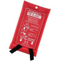 Buy cheap Emergency Survival Fiberglass Fire Blanket Shelter Safety Cover Ideal from wholesalers