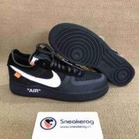 China Authentic OFF-WHITE x Nike Air Force 1 Black on sale