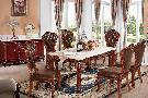 Buy cheap Dining room 909 long counter, 818 chairs pure color from wholesalers
