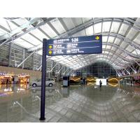 Buy cheap Airport Signage illuminated wayfinding sign from wholesalers