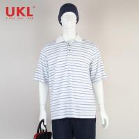Quality Wholesale Customized Stripe Design Polo Shirt for Man for sale