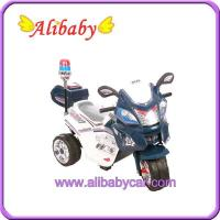 China T00757 police toy Motorcycle for child Electric bike on sale