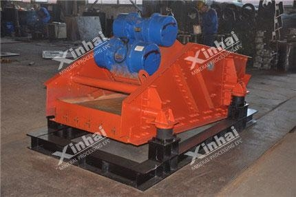 China High Frequency Dewatering Screen