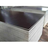 Buy cheap Film Faced Plywood 17mm 2 times hot press quality black film faced plywood from wholesalers