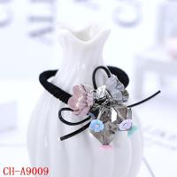 China CH-A9009 Hot selling flower hair band rubber band lady elastic hair tie wholesale on sale