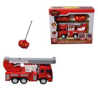Buy cheap Radio Control RC fire engine truck toy for kids (4ch) from wholesalers