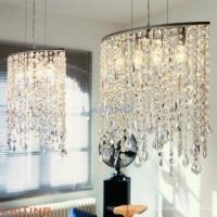 China Modern dinning room pendant light fancy crystal chandelier on sale