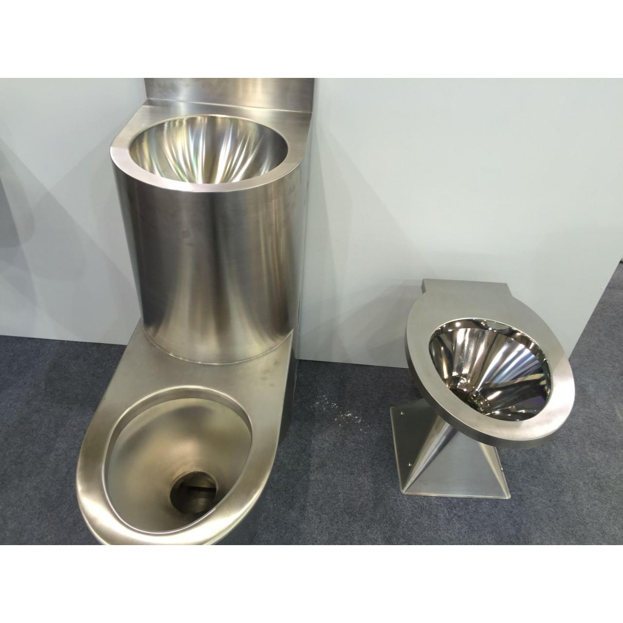 Quality Stainless steel cover and container stainless steel closestool for sale