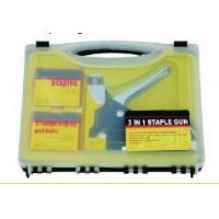 PLIERS & PIPE WRENCH 3-in-1 staple gun set
