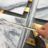 China Tile & Slab BMT036 Cloudy Grey Marble Tiles for sale