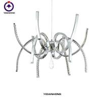 Quality Chandelier,chrome pendant lamp,modern chandelier simple crystal fancy light special offer-L2801-6+6 for sale
