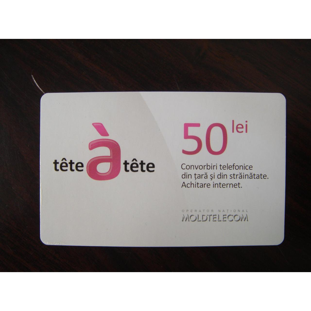 paper card with brochure