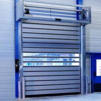 China Aluminium Spiral Insulated Roll up Door on sale