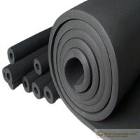 Good quality air conditioning insulation therm round rubber foam products