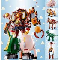 Quality Bandai Toy Story Chogattai Woody Robot Sheriff Star for sale