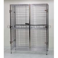 Durable Bright Chrome Wire Rack Security trolley unit