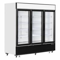 Glass Door Freezer SD1380