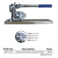 Buy cheap Stainless Steel Small Bench Crimper SSCT-180 from wholesalers