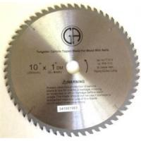 Buy cheap TC161N 10-in. 60 Tooth for Wood with Nails Arbor 1