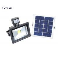 Buy cheap 50w outdoor waterproof led solar flood light with motion sensor from wholesalers
