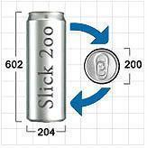 Buy cheap LAUNCH OF THE 2-PIECE SLICK2OO CAN SERIES from wholesalers