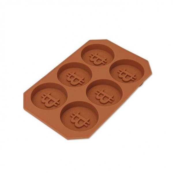 Buy Bitcoin Shape Silicone Chocolate Mold Candy Mold at wholesale prices