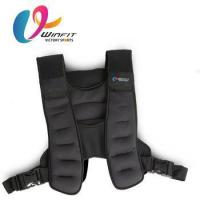 Buy cheap Factory direct sale Fitness Training Adjustable weight vest custom from wholesalers