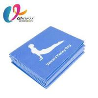 Quality Manufacturers sell Eco PVC folding travel natural yoga mat for sale